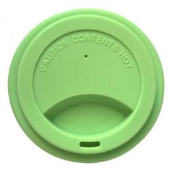 Jack N´Jill silikonové víčko na Jack N'Jill pohárek - zelené