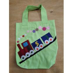 NetBag taška pro děti - vláček