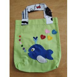 NetBag taška pro děti - velryba