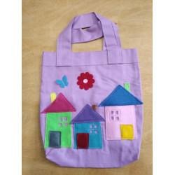 NetBag taška pro děti - domečky