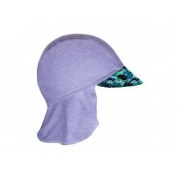 Unuo funkční čepice s kšiltem a plachetkou UV 50+ - Velryby XS