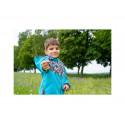 Unuo Softshellová bunda s fleecem vel. 98/104 - Smaragdová, Pejsci