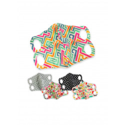 Petit Lulu rouška s drátkem M - Labyrint 2 ks