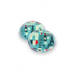 Petit lulu Odličovací tampónky 2ks - Paříž
