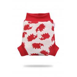 Vlněné svrchní kalhotky Petit Lulu - Červení ježci L