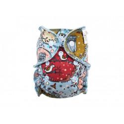 Breberky novorozenecká kalhotková plenka PAT - Ptáčči v klícce