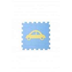 Vylen Minideckfloor - Světle modrá s žlutým autem