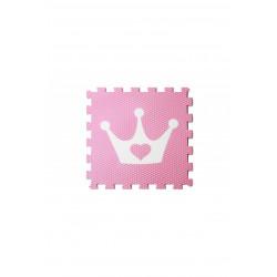 Vylen Minideckfloor - Růžová s bílou korunkou