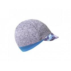 Unuo svetrovinová čepice s kšiltem Street vel. S ( 45 - 48 cm) - Autíčka
