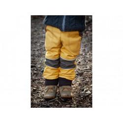 Loktu She Softshellové kalhoty - Žlutý melír