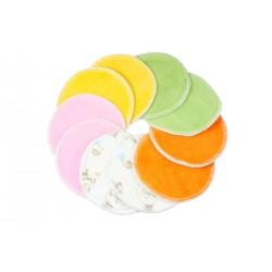 Vložky do podprsenky Petit Lulu barevné - 5 párů