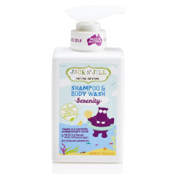 Jack N´Jill šampón & sprchový gel - Serenity