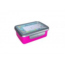 Zdravá sváča komplet box FLUO fialová/nerez