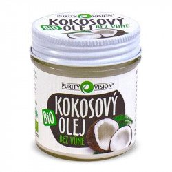 Purity vision bio kokosový olej bez vůně 120 ml