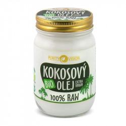 Purity vision raw bio kokosový olej bez vůně 370 ml