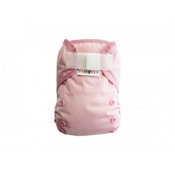 Breberky XL svrchní kalhotky gumička lem SZ - Světle růžové