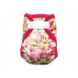 Breberky XL svrchní kalhotky fleecový lem SZ - Růže