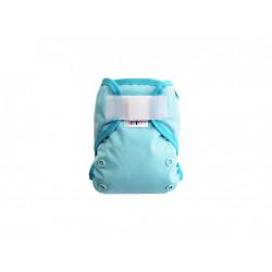 Breberky MINI XS svrchní kalhotky gumička lem SZ - Světle modré