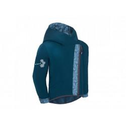 Unuo Softshellová bunda s fleecem Cross vel. 110/116 - Kobaltová sharp