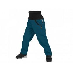 Unuo Softshellové kalhoty s fleecem Street vel. 110/116 - Kobaltová