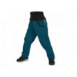 Unuo Softshellové kalhoty s fleecem Street vel. 122/128 - Kobaltová