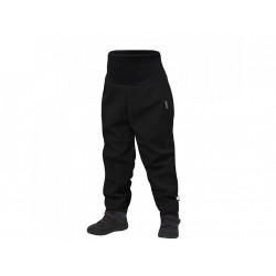 Unuo batolecí softshellové kalhoty s fleecem Street vel. 98/104 - Černá