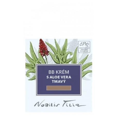 Nobilis Tilia BB krém s Aloe vera tmavý 1 ml - vzorek sáček