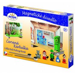 Detoa dětské magnetické divadlo - Karkulka