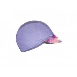 Unuo funkční čepice s kšiltem UV 50+ žíhaná holubičí šedá, Modemico L