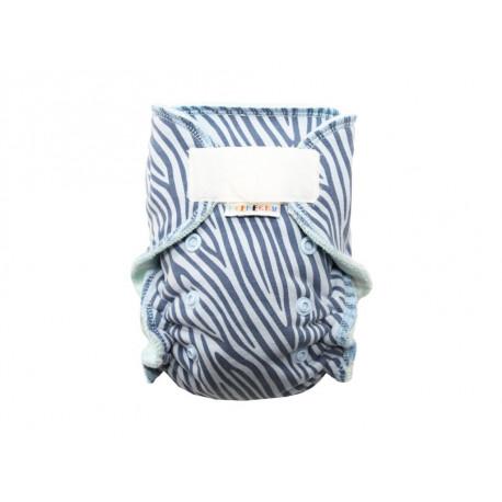 Breberky MINI kalhotková plenka SZ - Modrá zebra