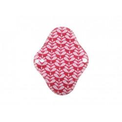 Breberky biobavlněná slipová vložka s PUL -  Růžová Charlotta