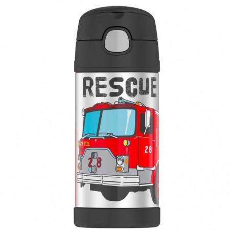 Thermos dětská termoska s brčkem - hasiči