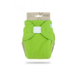 Novorozenecké svrchní kalhotky flís Petit Lulu - Zelené