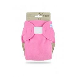 Novorozenecké svrchní kalhotky flís Petit Lulu - Růžové