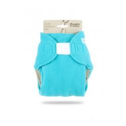 Novorozenecké svrchní kalhotky flís Petit Lulu - Tyrkysové