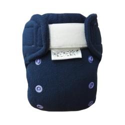 Novorozenecké svrchní kalhotky fleece Breberky SZ - Tmavě modré