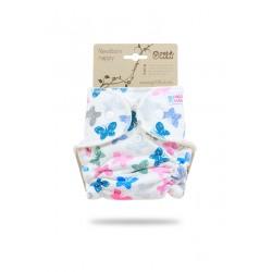 Novorozenecká plenka Petit Lulu na patentky - Barevní motýlci