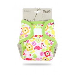 Svrchní kalhotky Petit Lulu SIO na patentky - Flamingo