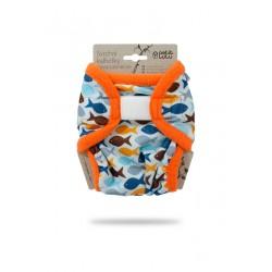 Novorozenecké svrchní kalhotky Petit Lulu - Rybky