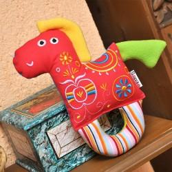 Houpací koník Šapitó chrastítko