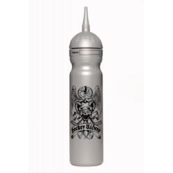 Zdravá lahev sportovní Hokejovka 1l - Stříbrná Hockey Riders