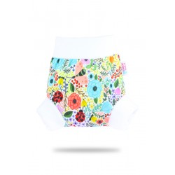 Pull-up svrchní kalhotky Petit Lulu - Rozkvetlá zahrada L