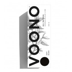 VOONO Henna Soft black 100 g - Přírodní barva na vlasy