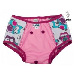 Tréninkové kalhotky Katyv Baby velikost M - Sovy