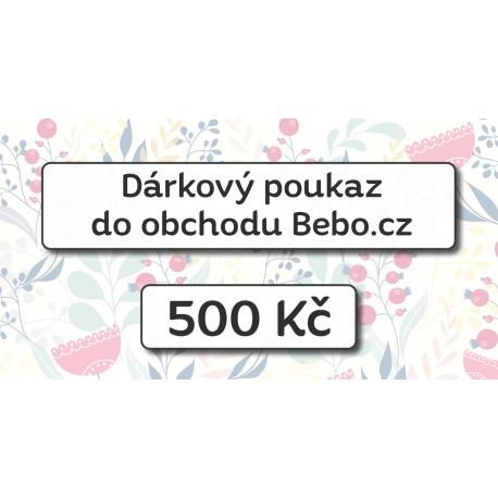 Dárkový poukaz na nákup za 500 Kč