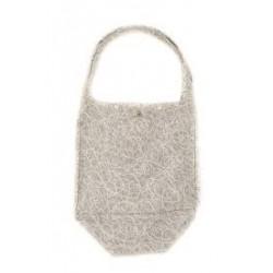 Bamboolik taška dezénová - Abstrakt šedá
