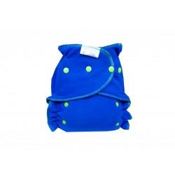 Majab flísové svrchní kalhotky SZ - Tmavě modrá jablíčková