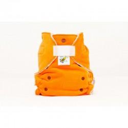 Majab kalhotková plenka extra savá noční  SZ - oranžová (hnědá)