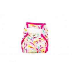 Majab PUL svrchní kalhotky - Floral růžová