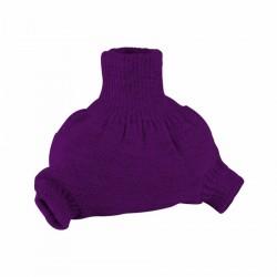 Vlněné natahovací kalhotky Disana - Fialové
